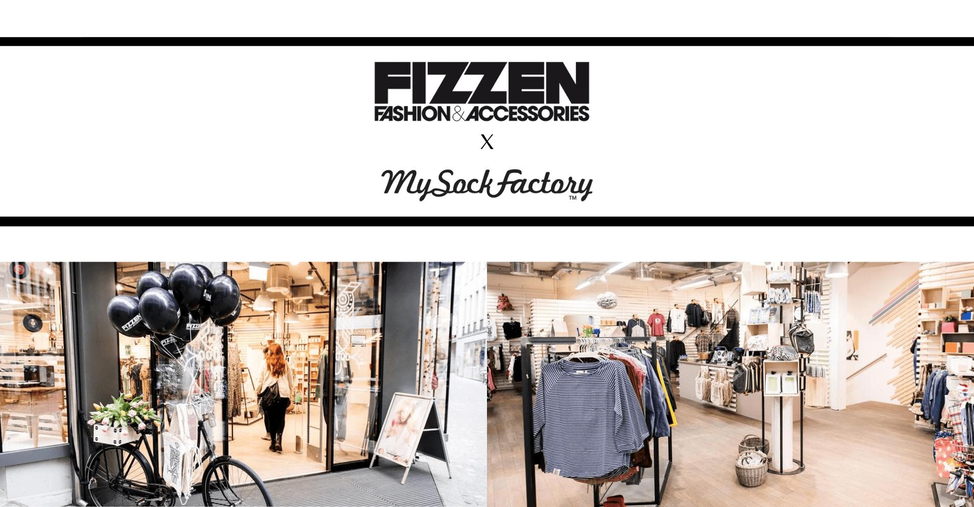 Acheter chaussettes collab Fizzen x My Sock Factory